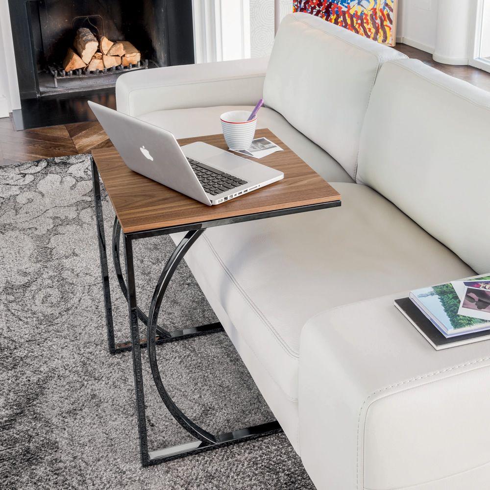 detroit 8156 beistelltisch tonin casa aus metall platte. Black Bedroom Furniture Sets. Home Design Ideas