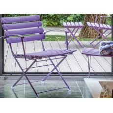 Arc En Ciel 401 - Armchair Emu for garden, folding, available in several colours