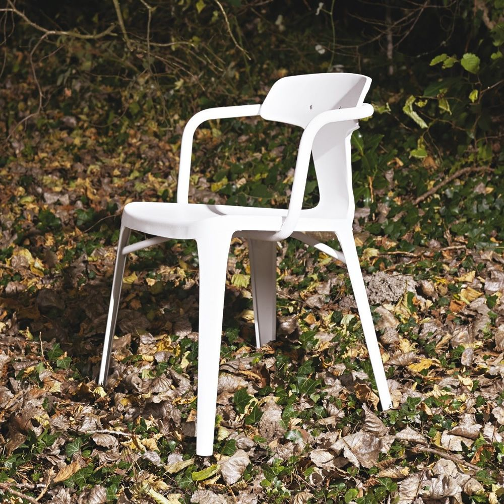 T14 Chair: Tolix design chair, in metal, stackable, also for the ...