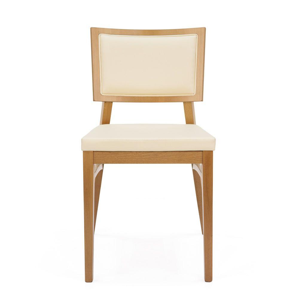 Mu28 silla moderna en madera con asiento y respaldo for Sillas madera colores