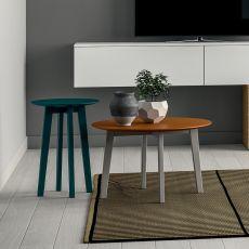 Zoe - Comodino - Tavolino Dall'Agnese in legno, diverse finiture e misure disponibili