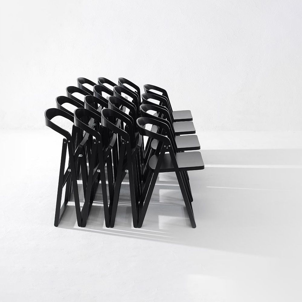 Patan Wooden Folding Chair Available In Several Colours