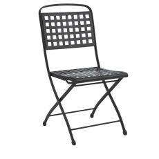 Isabella 2516 - Folding steel chair, for garden