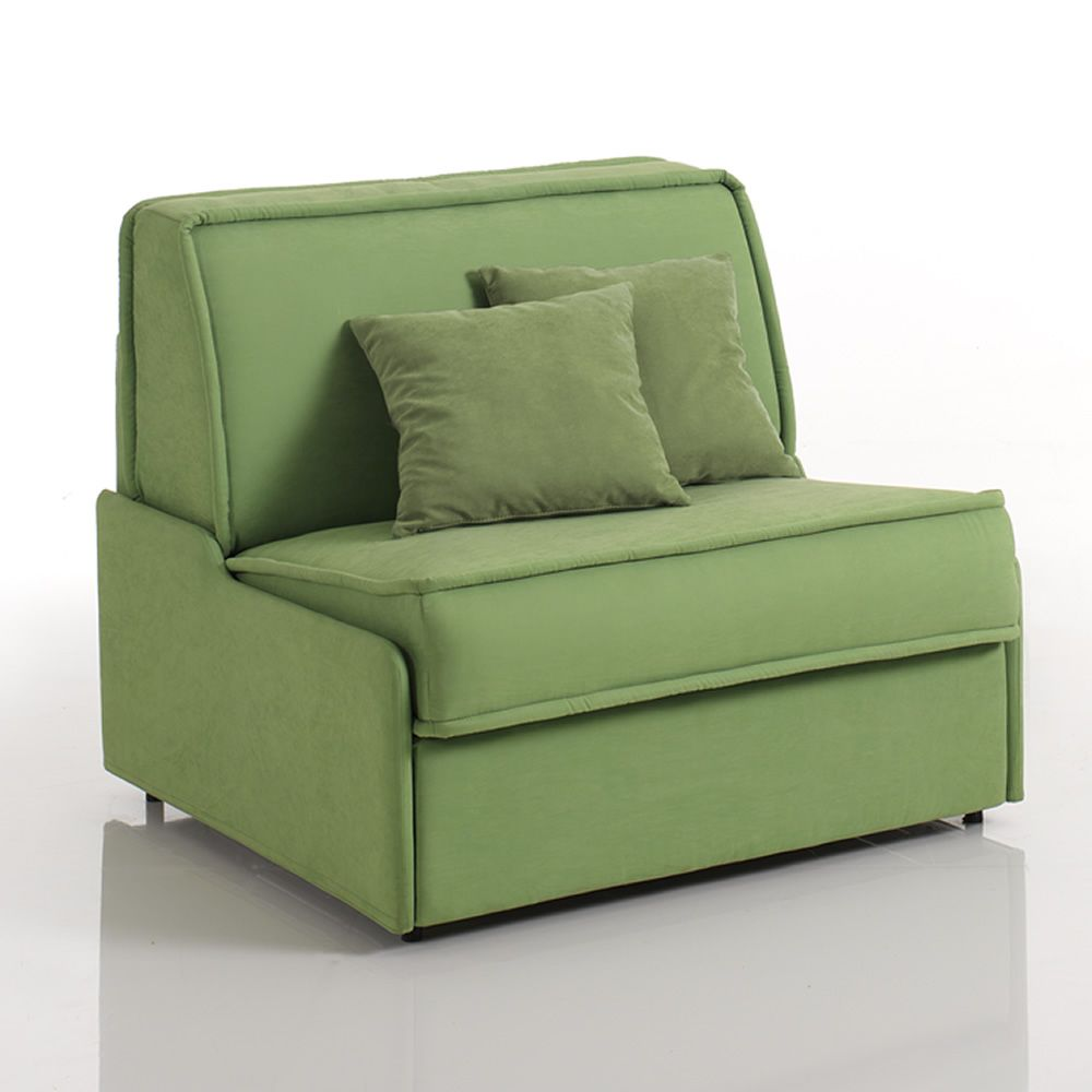 Papavero: Armchair bed, different upholsteries and colours ...