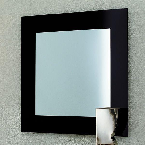 toshima 5032 viereckigerer spiegel tonin casa mit rahmen aus glas in verschiedenen. Black Bedroom Furniture Sets. Home Design Ideas