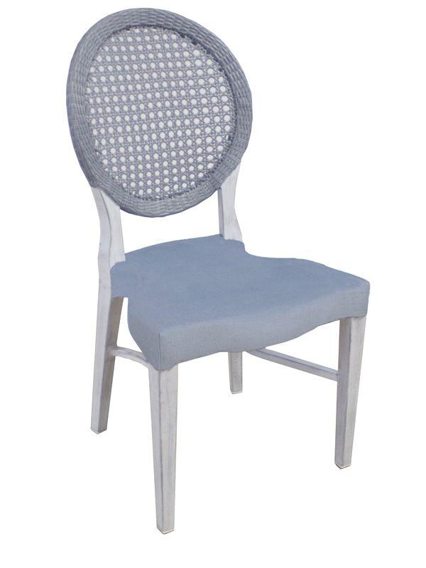 E30s silla de jard n realizada en aluminio y s mil rat n - Sillas de jardin de aluminio ...