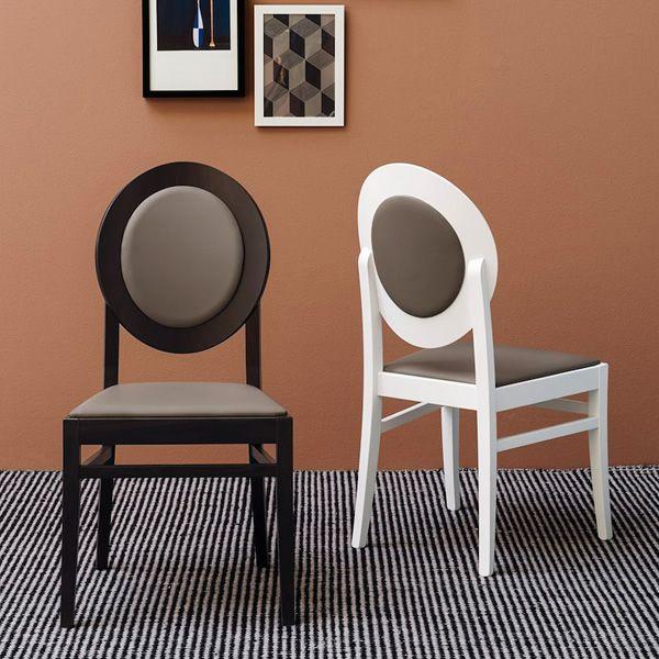 Cb1648 notre dame: silla connubia   calligaris de madera, asiento ...