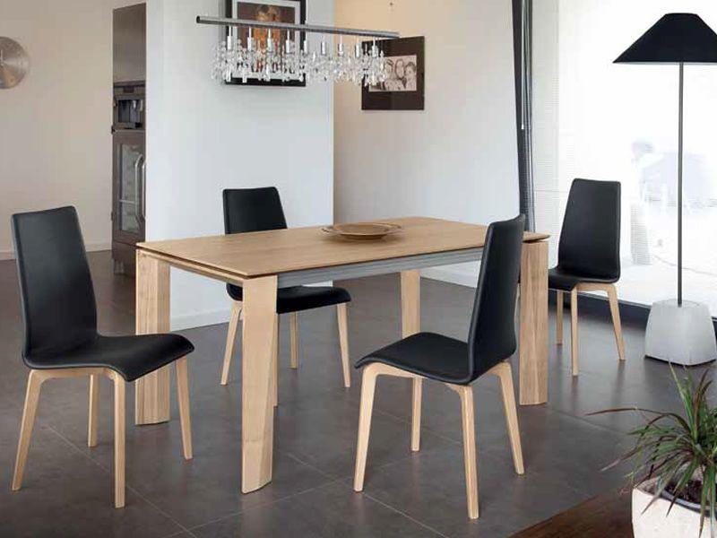 Maxim 160 tavolo domitalia in legno piano in ceramica for Tavolo rotondo legno chiaro