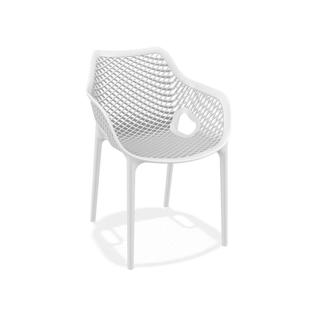 TT1051 Gartenstuhl aus Polypropylen und Glasfaser