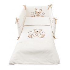 Zoom set - Set letto Pali con paracolpi, piumotto sfoderabile e federa cuscino