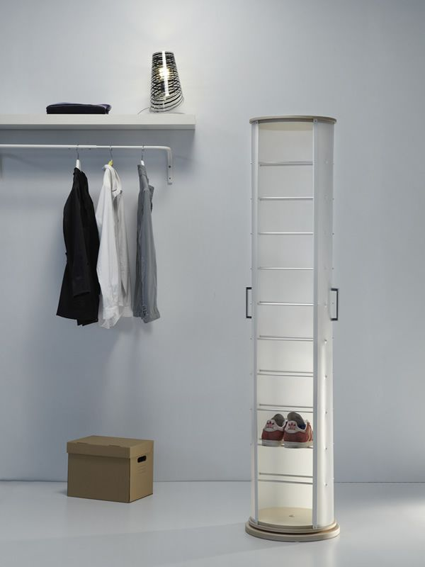 pop meuble chaussures pivotant en polypropyl ne muni de. Black Bedroom Furniture Sets. Home Design Ideas