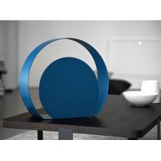 Chiocciola Promo - Lampada da tavolo di design in metallo, disponibile in diversi colori