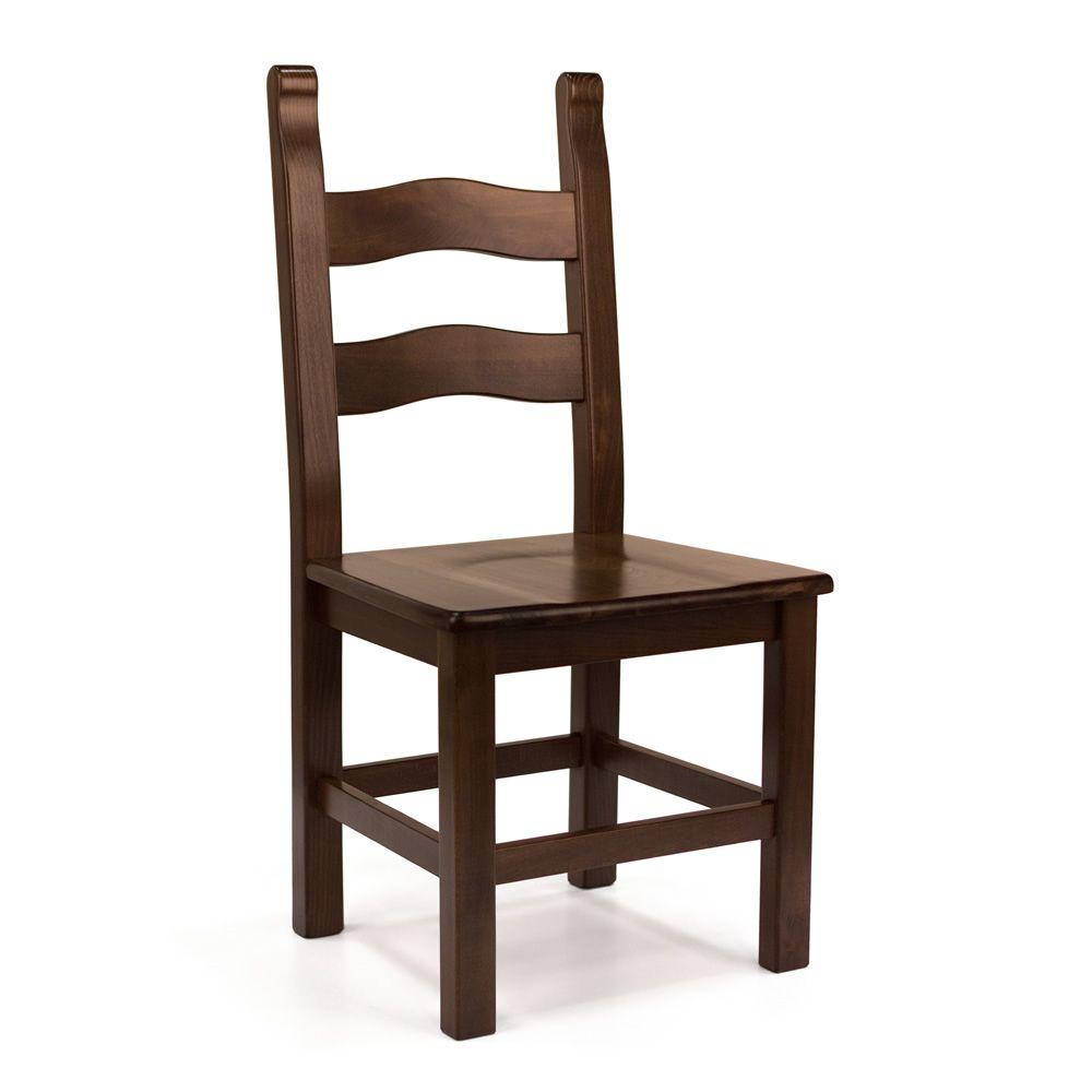 Mu130 para bare y restaurantes silla r stica en madera for Sillas para bares y restaurantes