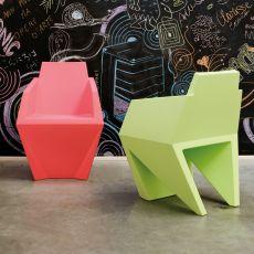 Gemma - Poltroncina di design B-Line, in polietilene, anche per esterno, disponibile in vari colori