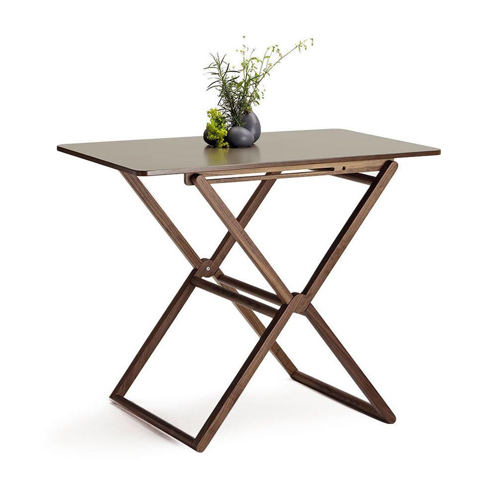 Treee bar mesa de design plegable tapa 90x60 cms for Mesas de madera bar