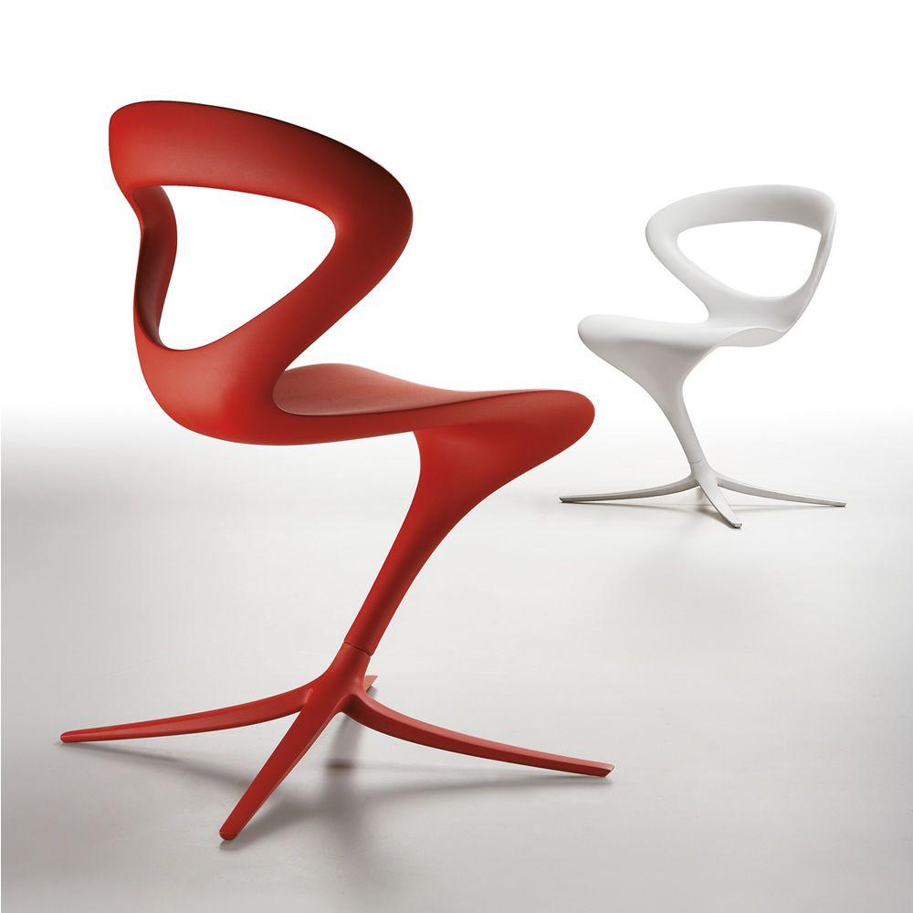 Design Stühle callita designer stuhl infiniti aus polyurethan in verschiedenen