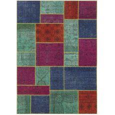 Antalya Kaiser - Moderner, bunter Teppich aus reiner Schurwolle, verschiedene Größen verfügbar