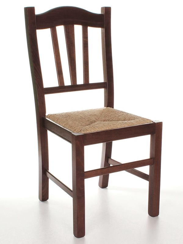Mu29 chaise rustique en bois disponible en diff rentes for Assise de chaise en paille