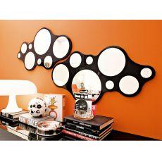 CB5029 Bubbles - Specchio moderno Connubia - Calligaris, diversi colori disponibili