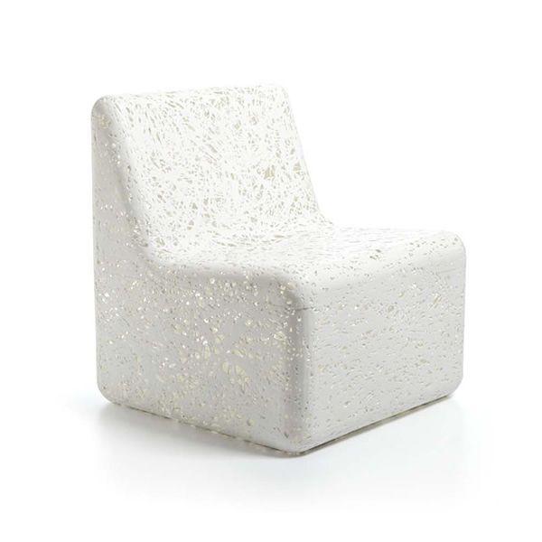 cora fauteuil design de jardin en plastique en blanc ou multicolore sediarreda. Black Bedroom Furniture Sets. Home Design Ideas