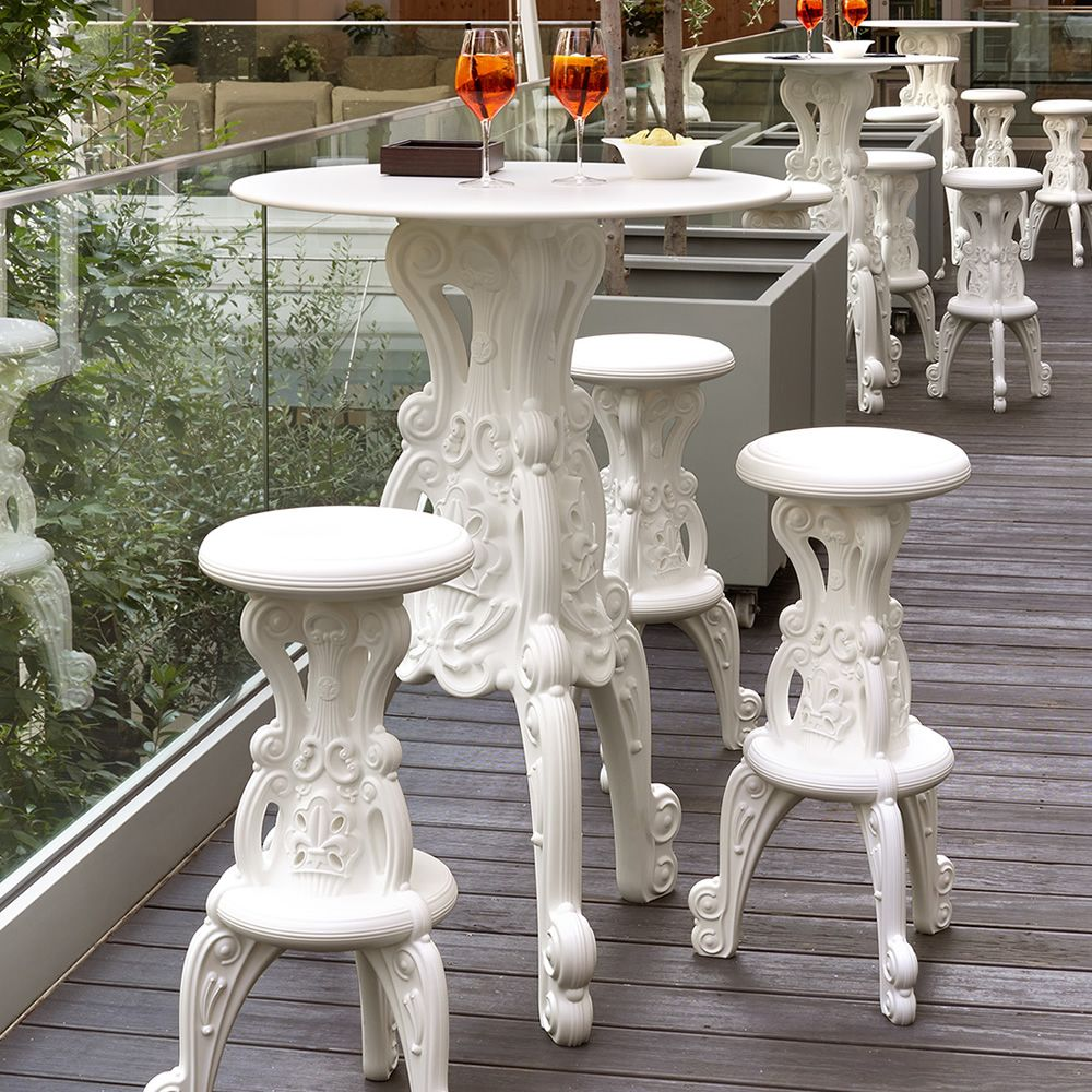 master of love pour bars et restaurants table haute en poly thyl ne plateau en hpl. Black Bedroom Furniture Sets. Home Design Ideas