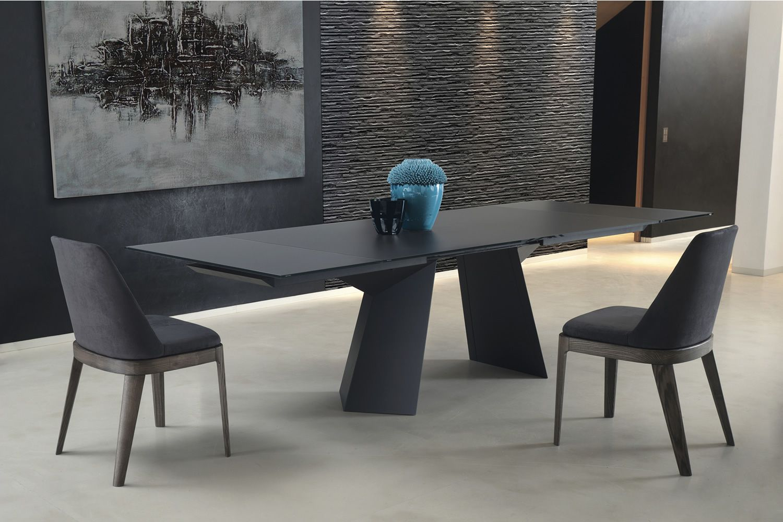 Fiandre ext: table design de bontempi casa, 160(240)x90 cm à ...