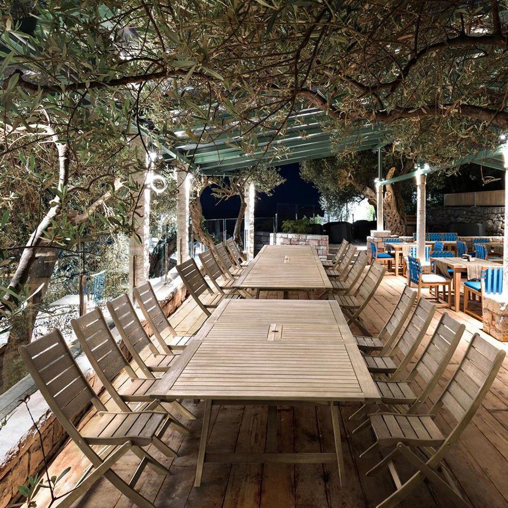 Trinidad t tavolo allungabile in legno balau per for Tavolo in legno per esterno