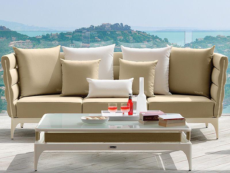 Pad set set design da giardino divano 2 poltrone e un - Set divano giardino ...