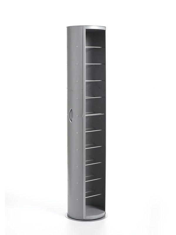pop drehbares schuhregal aus polypropylen mit fu bodenplatte aus metall oder holz in. Black Bedroom Furniture Sets. Home Design Ideas