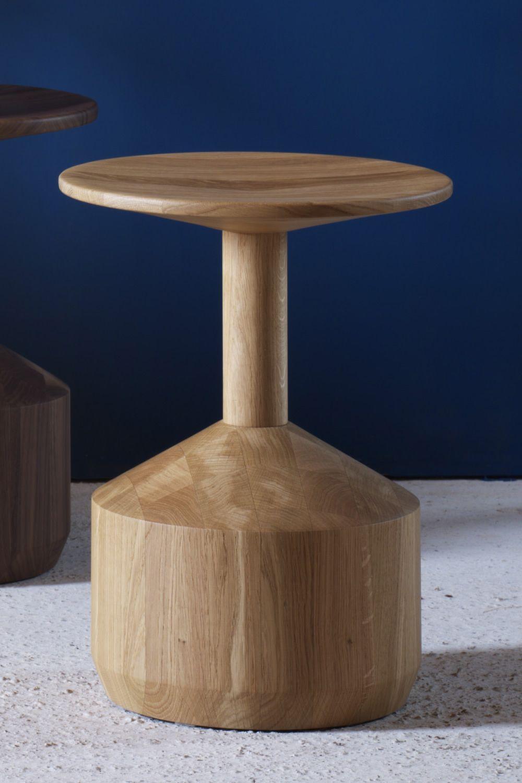 Pezzo taburete bajo miniforms de madera altura asiento for Taburetes de madera