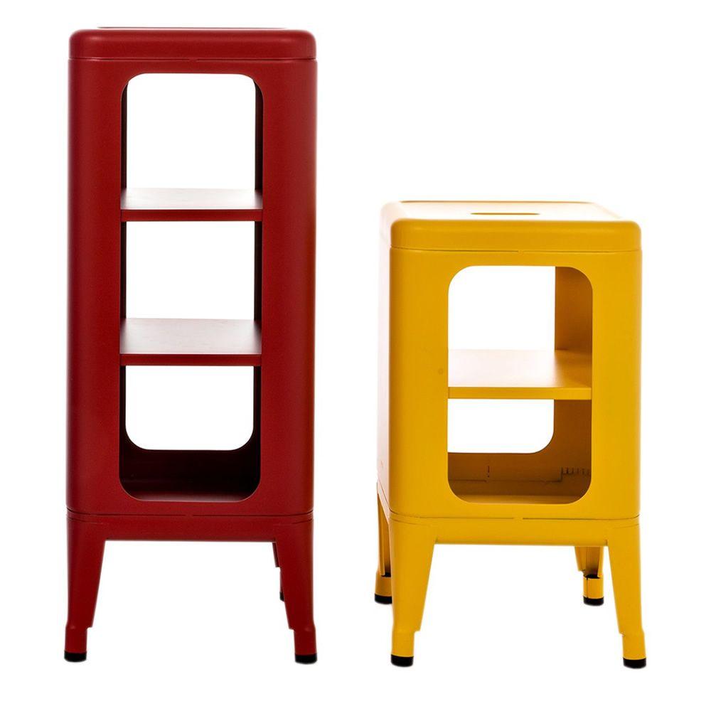 Mt meuble tabouret tolix en m tal hauteur 50 ou 75 cm for Meuble 50 cm hauteur