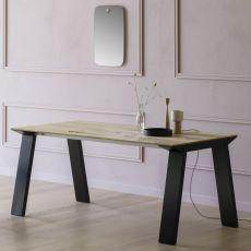 Artù R - Tavolo rettangolare Miniforms in legno, diverse dimensioni disponibili