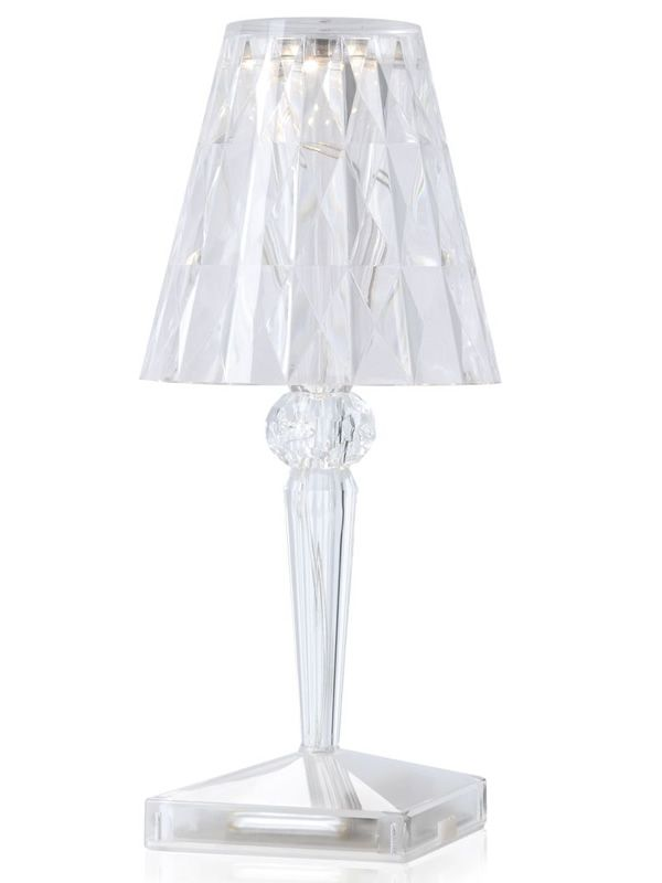 battery lampe de table kartell en technopolym re rechargeable led disponible en diff rentes. Black Bedroom Furniture Sets. Home Design Ideas