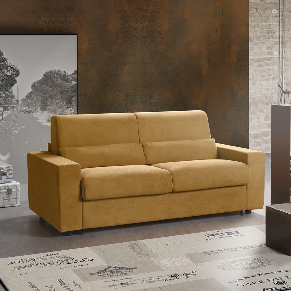 Geranio divano letto a 3 posti o 3 posti xl completamente sfoderabile diversi rivestimenti e - Divano letto verona ...