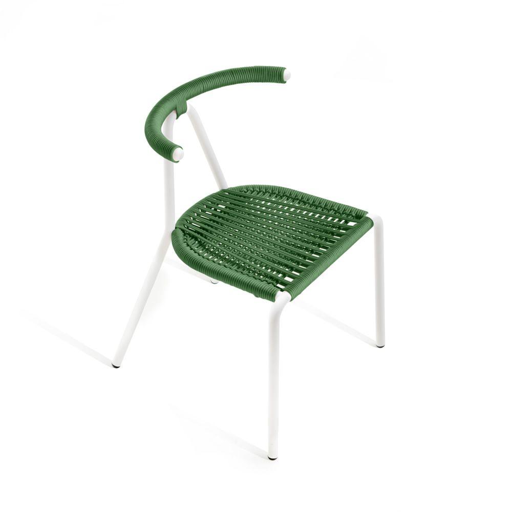 Toro outdoor b line stuhl aus metall sitzfl che aus - Outdoor stuhle kunststoff ...