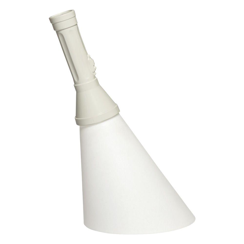 Flash - Lampada da tavolo Qeeboo a forma di torcia, in polietilene, LED, ricaricabile, anche per ...