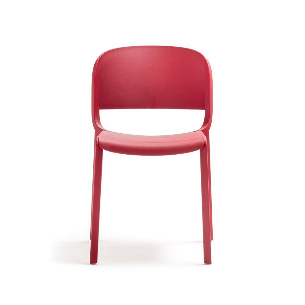dome chaise pedrali en polypropyl ne empilable avec ou sans accoudoirs aussi pour jardin. Black Bedroom Furniture Sets. Home Design Ideas