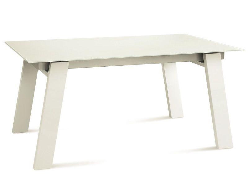 Tisch wei mit dunkler platte innenr ume und m bel ideen for Esstisch weiss mit dunkler platte