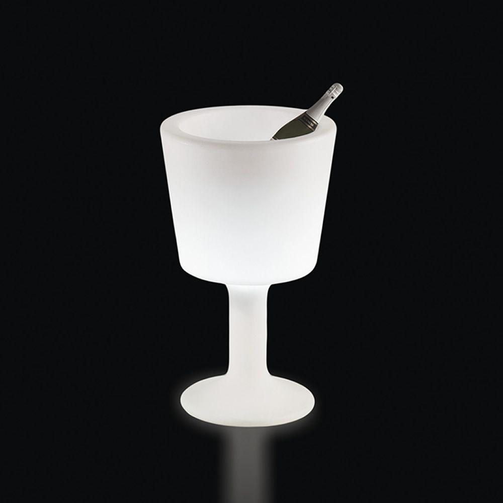 Light drink slide wine cooler with light system floor lamp made also light drink bottle carrier with light system floor lamp made of polyethylene aloadofball Images