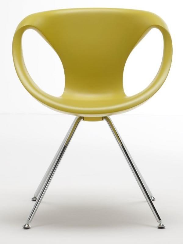 up chair sedia design di tonon in metallo e poliuretano. Black Bedroom Furniture Sets. Home Design Ideas