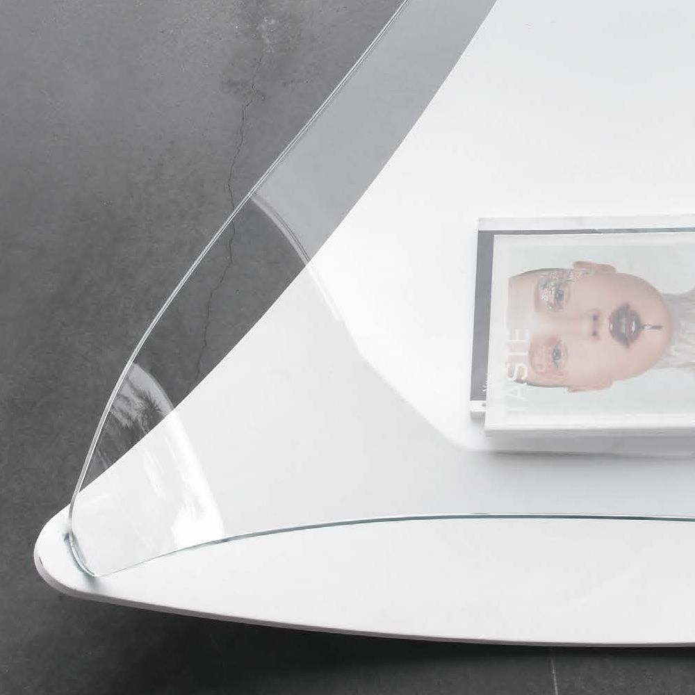 Quiet 8194 tavolino tonin casa in impiallacciato con for Case in vetro