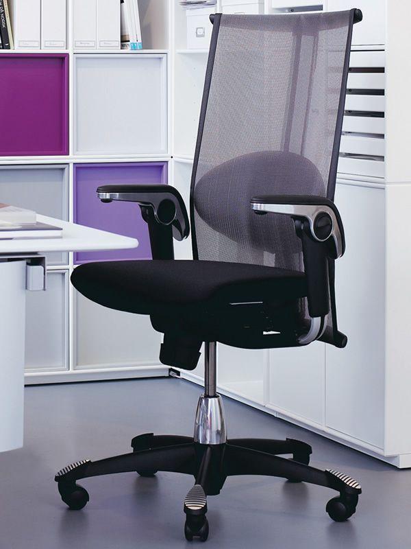 H09 inspiration silla ergon mica de oficina h g con for Sillas ergonomicas para pc