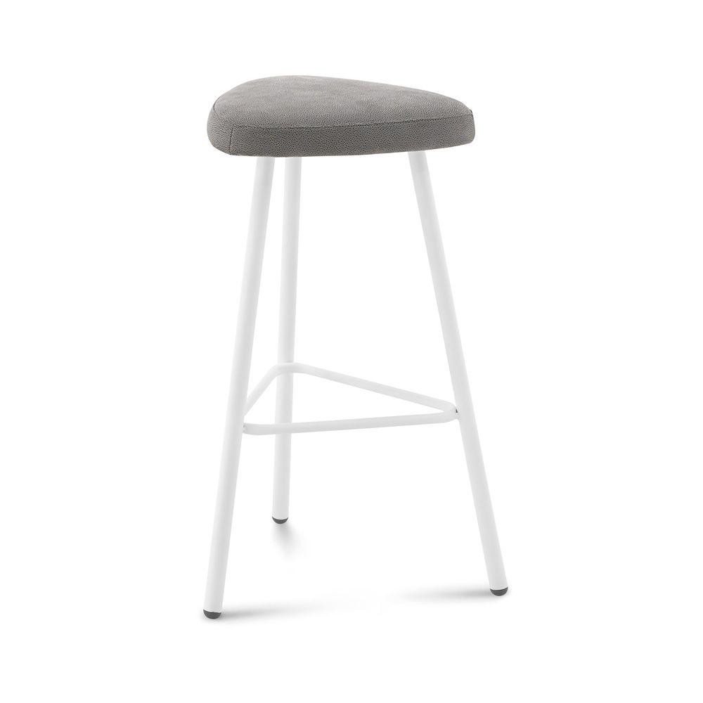 pick tabouret domitalia en m tal assise en li ge ou recouverte hauteur 66 ou 76 cm sediarreda. Black Bedroom Furniture Sets. Home Design Ideas