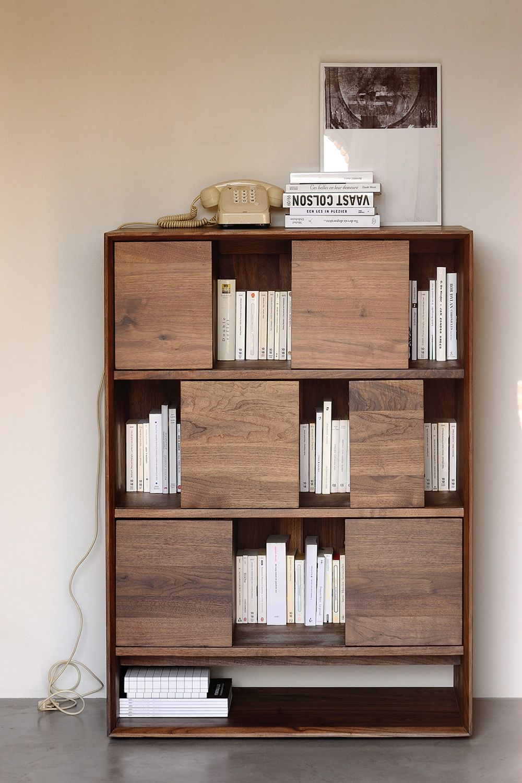 Nordic r mobile soggiorno ethnicraft in legno diverse for Mobile soggiorno bianco