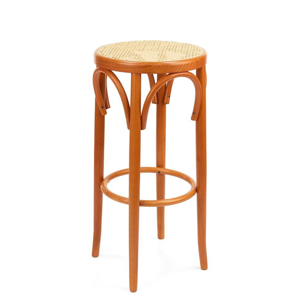 Se72h sgabello viennese in legno diversi colori e for Sedie acciaio e paglia di vienna
