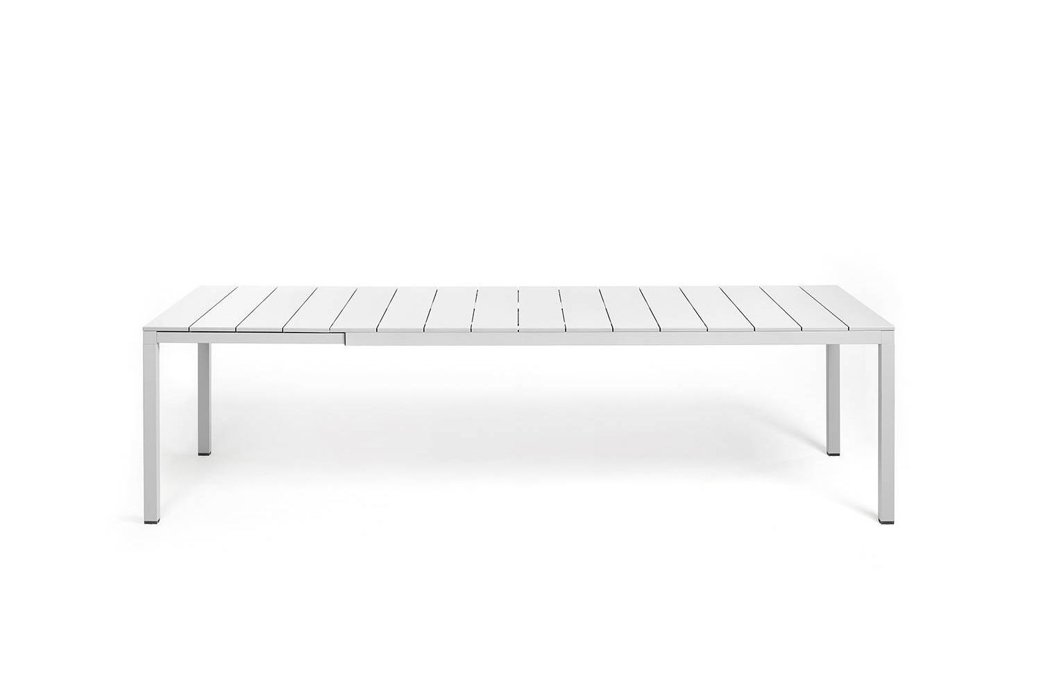 Rio Extendable Table Made Of Metal Resin Top In Several Sizes