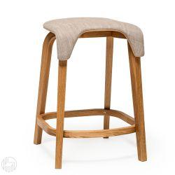 Leaf stool r hocker ton aus holz mit gepolstertem sitz - Hocker fa r kosmetiktisch ...
