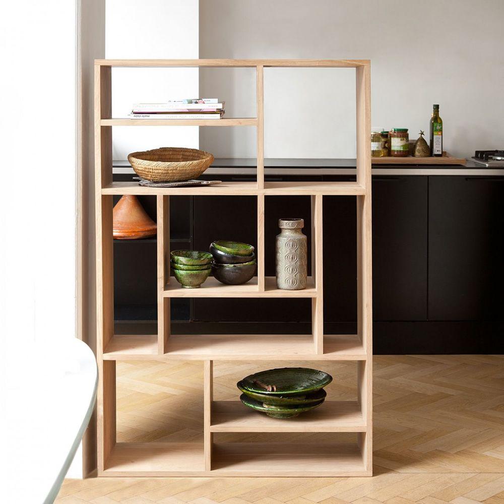 m biblioth que ethnicraft en bois disponible en diff rentes dimensions et finitions sediarreda. Black Bedroom Furniture Sets. Home Design Ideas