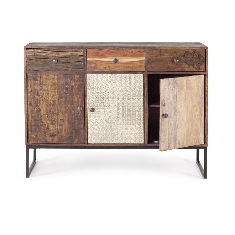 abuja 3a 3c credenza vintage per soggiorno in legno con