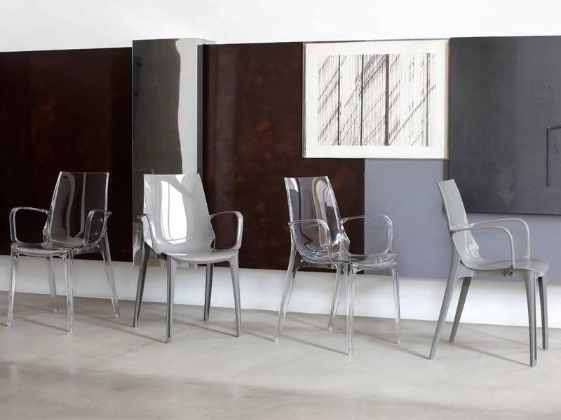 Vanity 2654 per bar e ristoranti sedia bar in - Sedie policarbonato ...